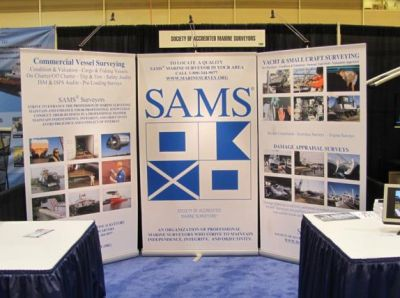 SAMS Boat Show Booth